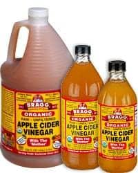Use bragg apple cider vinegar to prevent acne